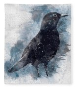 Blackbird Grunge Edition Fleece Blanket