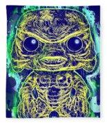 Creature From The Black Lagoon Pop Fleece Blanket
