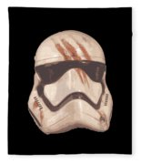 Bloody Helmet Fleece Blanket