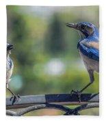 Blu And Blu2 Fleece Blanket