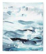 Blue #11 Fleece Blanket