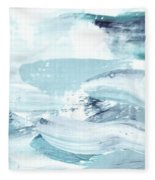 Blue #15 Fleece Blanket