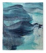 Blue #3 Fleece Blanket