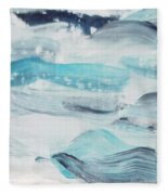 Blue #7 Fleece Blanket