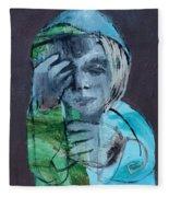 Blue Anorak Fleece Blanket