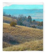 Blue Butte Prairie Reverie Fleece Blanket