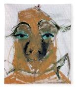 Blue Eyed Man Fleece Blanket