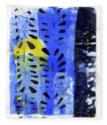 Blue Garden 1 Fleece Blanket