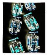 Blue Racers Fleece Blanket