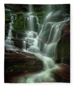 Blue Ridge Mountains Cascade Fleece Blanket