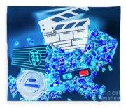 Blue Screen Entertainment Fleece Blanket