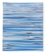 Blue Water Abstract 8621 Fleece Blanket
