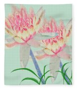 Blush Of Pink Fleece Blanket