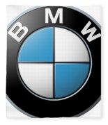 Bmw Emblem Fleece Blanket