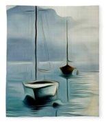 Boat Sails Fleece Blanket