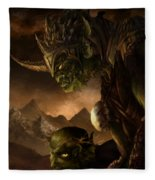 Bolg The Goblin King Fleece Blanket