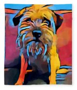 Border Terrier Fleece Blanket