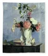 Bouquet Of Flowers Fleece Blanket