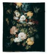 Bouquet Of Flowers  The So Called Liechtenstein Bouquet        Fleece Blanket