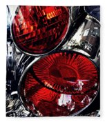 Brake Light 13 Fleece Blanket
