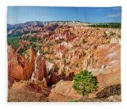 Bryce Canyon Sunrise Point Fleece Blanket