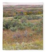 Buffaloberry September Reverie Fleece Blanket