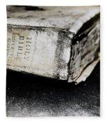A Book Of Survival Fleece Blanket