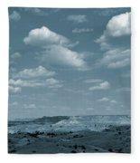 Burning Coal Vein Cloud Parade Fleece Blanket