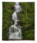 Buttermilk Falls Fleece Blanket by Susan Candelario