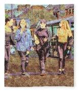 Buxton Innocence. Fleece Blanket