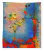 By Any Other Name Fleece Blanket by Skip Hunt