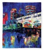 C Town Fleece Blanket
