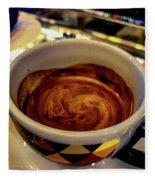 Caffe Doppio Fleece Blanket