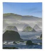 California Ocean Fleece Blanket