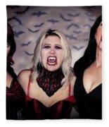 Call Of The Vampires Women Fleece Blanket