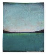 Calm Ocean 1 Fleece Blanket