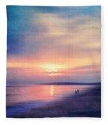 Calm Sea Fleece Blanket