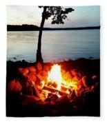 Campfire Fleece Blanket