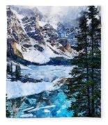 Canada, Alberta - 07 Fleece Blanket