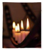 Candlestick  Fleece Blanket