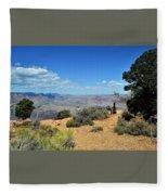 Canyon Color Fleece Blanket