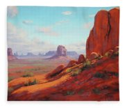 Canyonlands  Fleece Blanket