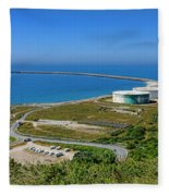 Cap Antifer Oil Terminal  Fleece Blanket