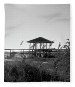 Cape San Blas Fleece Blanket