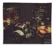 Car Club Fleece Blanket