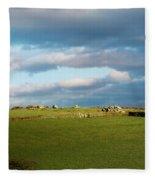 Carnmenellis Landscape Fleece Blanket