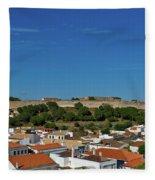 Castro Marim Village And Medieval Castle Fleece Blanket