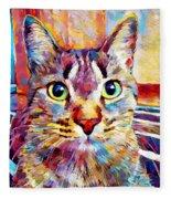 Cat 13 Fleece Blanket