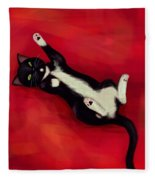 Cat N Fleece Blanket