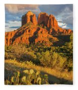 Cathedral Rock, Coconino National Fleece Blanket